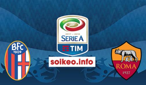 Trận bóng giữa Bologna và AS Roma