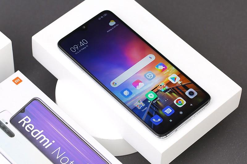 Xiaomi Note 8 Pro có thiết kế màn hình lớn lên tới 6.53 inch