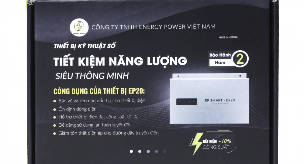 Một thiết bị tiết kiệm điện uy tín ít nhất phải có xuất xứ và thông tin đơn vị sản xuất rõ ràng để đảm bảo quyền lợi của khách hàng